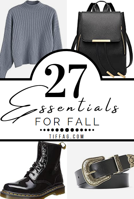 Outfit Essentials for Fall Fashion