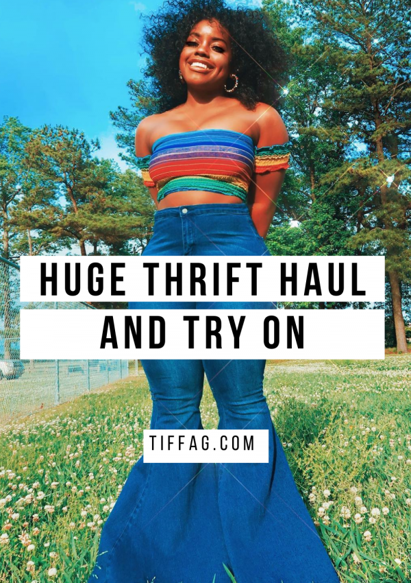 Affordable Thrift Haul and Try on