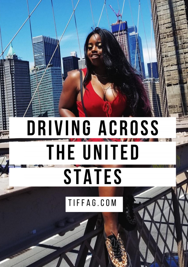 Traveling across the United States